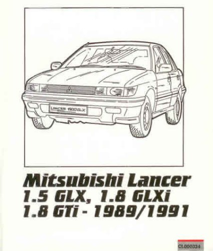 9780907779995: mitsubishi owner's repair guide: lancer 1.5 and 1.8 litre,  1989 to 1991 - abebooks - russek, peter: 0907779999  abebooks