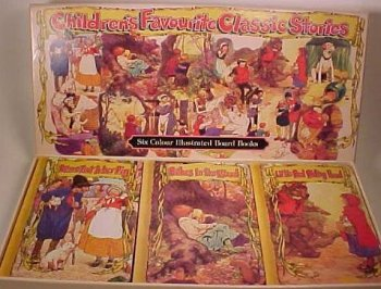 CHILDREN'S FAVOURITE CLASSIC STORIES(SIX COLOUR ILLUSTRATED BOARD