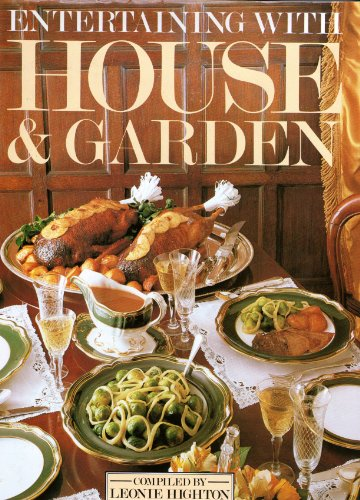 9780907812357: Entertaining with House and garden: 600 recipes for successful menus and parties