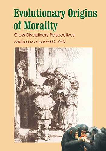 9780907845072: Evolutionary Origins of Morality: Cross-Disciplinary Perspectives