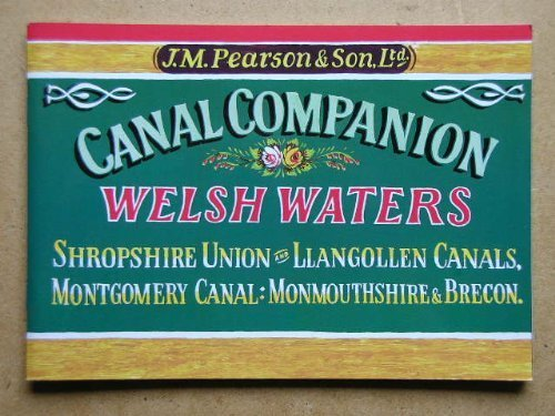 Pearson's Canal Companion: Welsh Waters: Pearson, Michael, Goss