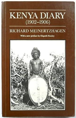 Kenya Diary 1902-1906: Meinertzhagen, Richard