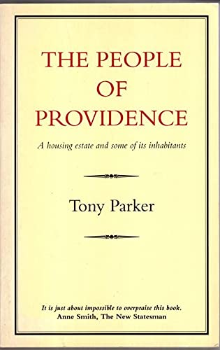 9780907871576: The People of Providence: A Housing Estate and Some of Its Inhabitants