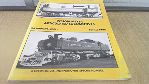 9780907941378: Kitson Meyer Articulated Locomotives