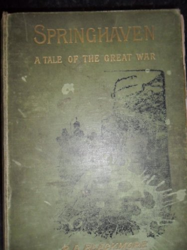 9780907951049: Springhaven: A Tale of the Great War