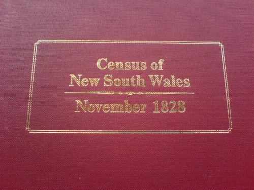 Census of New South Wales, November 1828