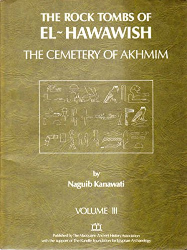 9780908299058: The Rock Tombs of El-Hawawish: Cemetery of Akhmin v. 3