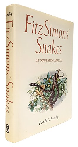 9780908387045: Fitzimons Snakes of Southern Africa
