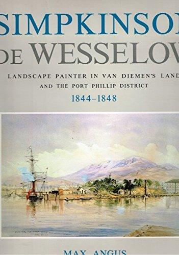 Simpkinson de Wesselow: Landscape Painter in Van: Max Angus