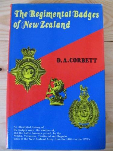 9780908596058: The Regimental Badges of New Zealand