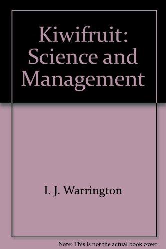 9780908596287: Kiwifruit: Science and Management