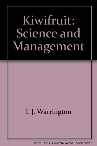 9780908596287: Kiwifruit - Science And Management