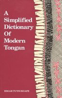 9780908597093: A Simplified Dictionary of Modern Tongan