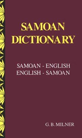 9780908597123: Samoan Dictionary: Samoan-English English-Samoan