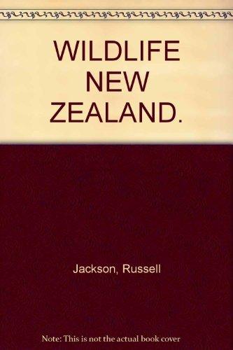 9780908610044: WILDLIFE NEW ZEALAND.