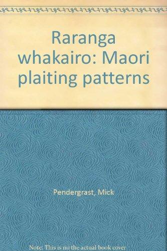 9780908632954: Raranga whakairo: Maori plaiting patterns