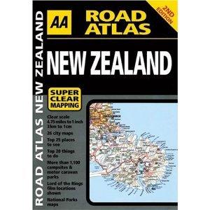 New Zealand Travel Atlas 2005