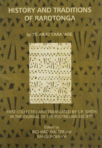 History and Traditions of Rarotonga: Te Ariki Tara'Are (Memoir, 51): Are, Te Ariki Tara