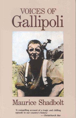 9780908990726: Voices of Gallipoli