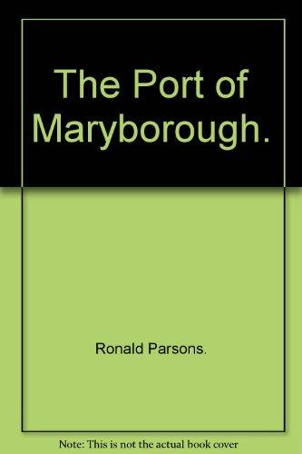 Port Of Maryborough: Parsons Ronald