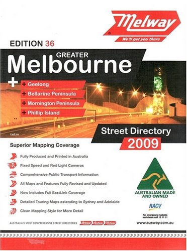 9780909439361: Melbourne: Melway Street Directory 2009