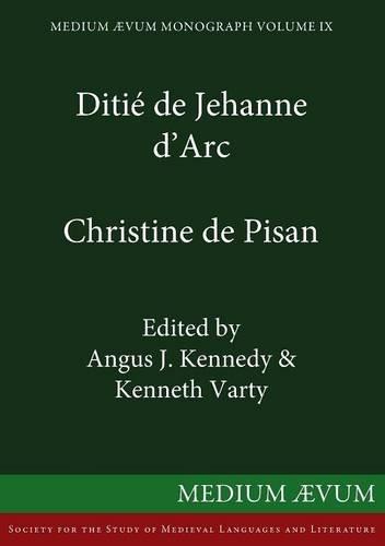 9780909505950: Ditié de Jehanne d'Arc (French Edition)