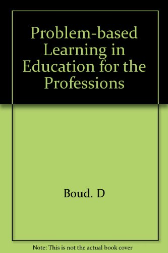 9780909528928: Problem-based Learning in Education for the Professions
