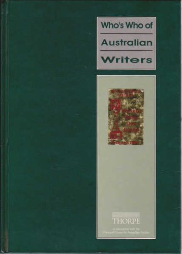 Who's Who of Australian Writers