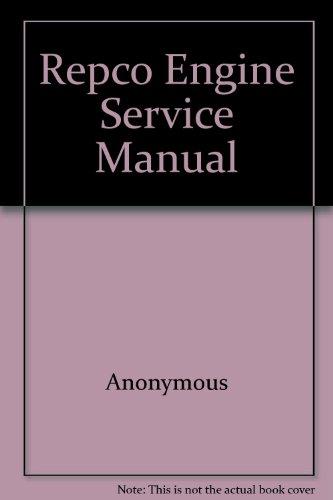 9780909638009: Repco Engine Service Manual