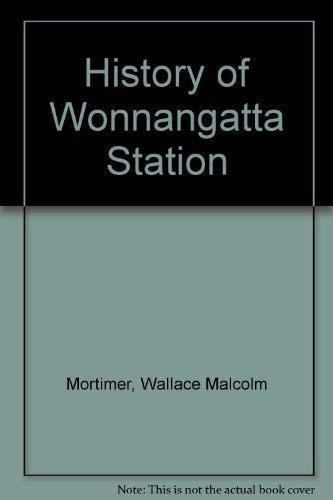 9780909837907: History of Wonnangatta Station