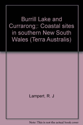 Burrill Lake and Currarong;: Coastal sites in southern New South Wales (Terra Australis): Lampert, ...