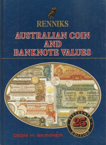 9780909979157: Renniks Australian Coin and Banknote Values