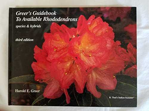 9780910013062: Greer's Guidebook to Available Rhododendrons