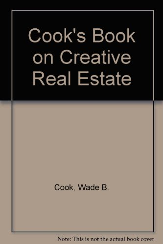 9780910019026: Cook's Book on Creative Real Estate