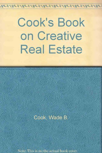 9780910019057: Cook's book on creative real estate