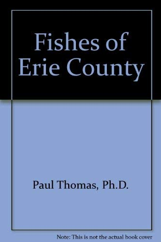 9780910042680: Fishes of Erie County