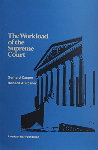 9780910058780: The Workload of the Supreme Court