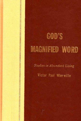 9780910068130: God's Magnified Word: Studies in Abundant Living, Vol.IV