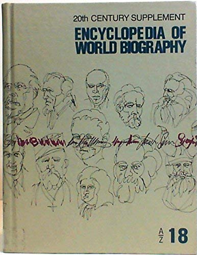 9780910081078: Encyclopedia of World Biography/20th Century Supplement