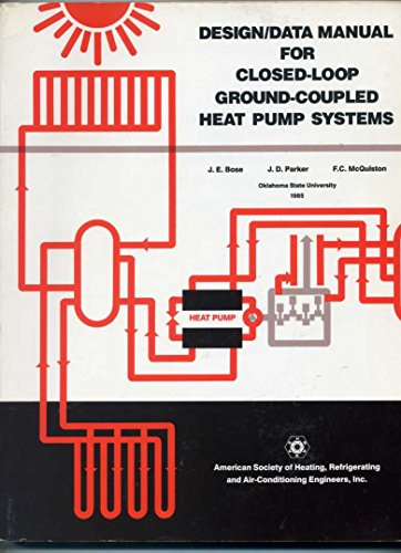 9780910110419: Design-Data Manual for Closed-Loop Ground-Coupled Heat Pump Systems