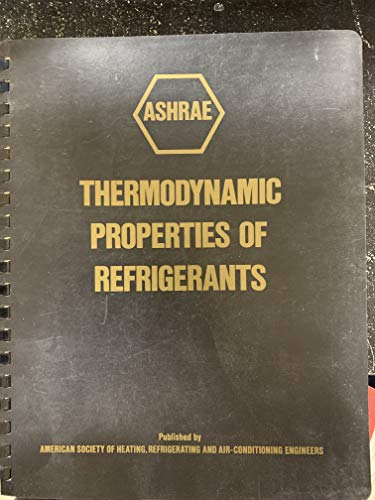 9780910110471: Ashrae Thermodynamic Properties of Refrigerants