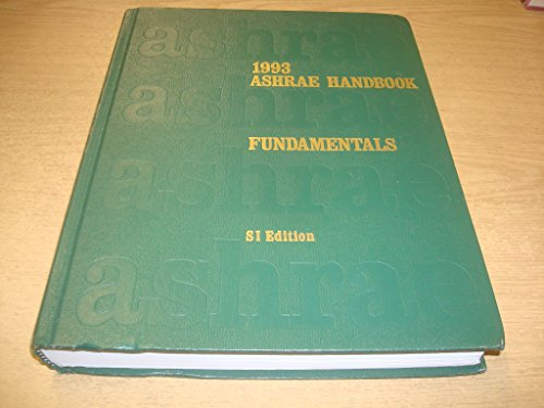 9780910110976: Fundamentals: 1993 Ashrae Handbook/ Systems International Metric System (Ashrae Handbook Fundamentals Systems-International Metric System)