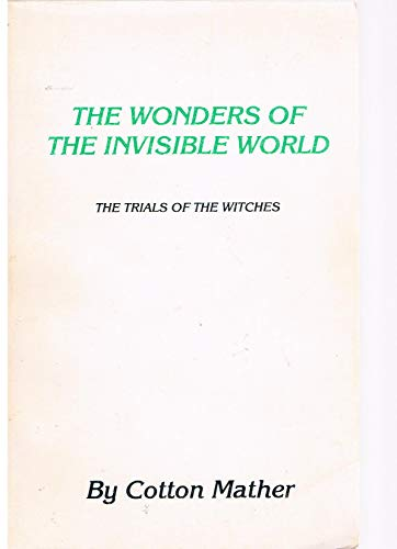9780910122467: Wonders of the Invisible World
