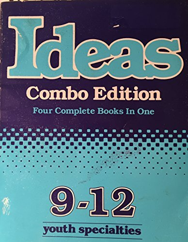 9780910125277: Ideas, Combo Edition (Four Complete Books In One 9 - 12) Youth Specialties