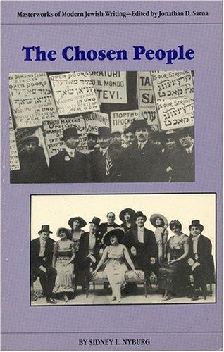9780910129473: The Chosen People (Masterworks of Modern Jewish Writing Series)