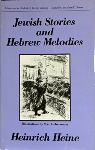9780910129688: Jewish Stories and Hebrew Melodies (Masterworks of Modern Jewish Writing Series) (English and German Edition)