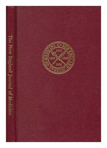 The New England Journal of Medicine, Vol. 1: Relman, Arnold S Ed - Related Name: Massachusetts ...