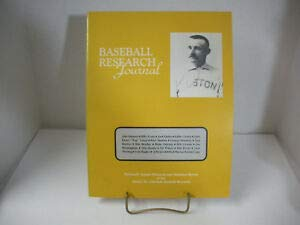 Baseball Research Journal: Thirteenth Annual Historical and