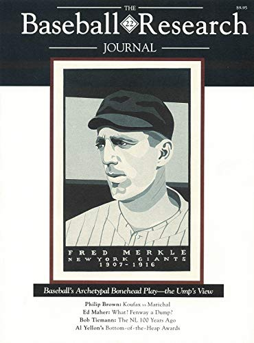 The Baseball Research Journal Volume 22