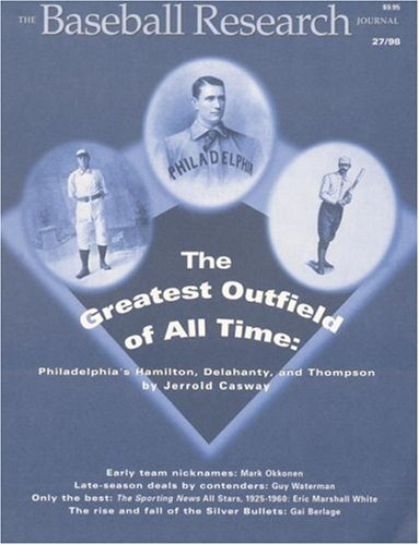 9780910137751: The Baseball Research Journal (BRJ), Volume 27